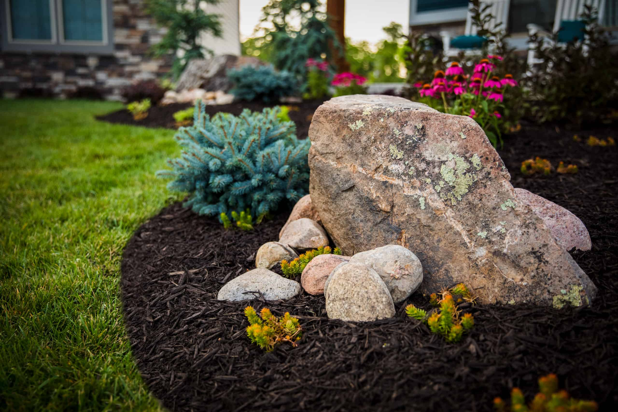 rocks in landscaping