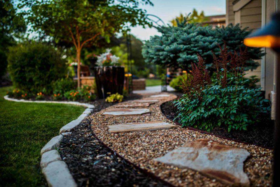 patio paver walkway